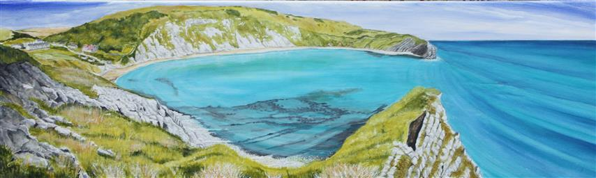 Lulworth Cove - looking across (Small)